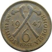 6 Pence Coin
