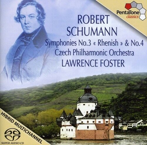 Lawrence Foster, R. Schumann - Symphonies 3 & 4 [New SACD] Hybrid SACD