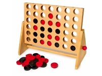 High Quality Wooden Board Game CONNECT 4