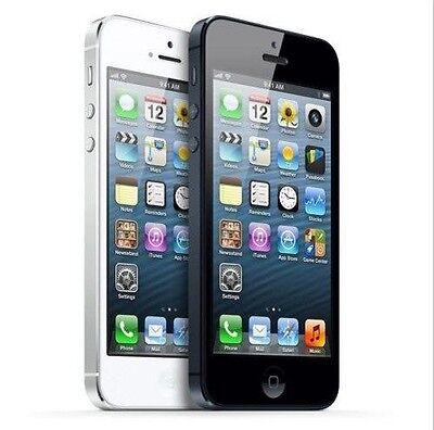 Apple iPhone 5 Black or White - 16GB 32GB 64GB - GSM Unlocked *Refurbished*](iphone 5 32gb white unlocked)