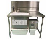 AYRKING BBS-U-4830 Breading blender sifter table