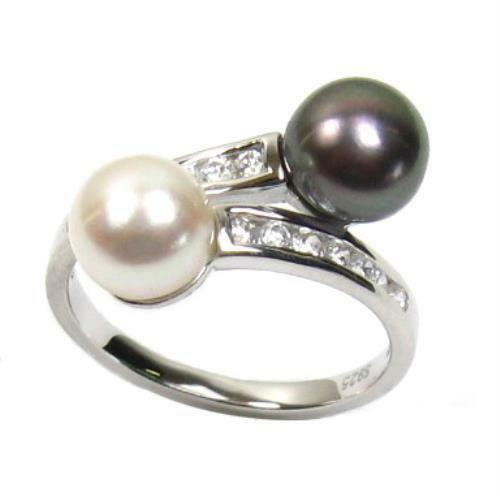 Pearl And Diamond Ring Ebay