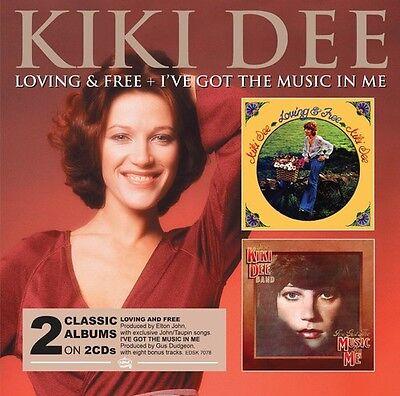 Kiki Dee   Loving   Free   Ive Got The Music In  New Cd  Uk   Import
