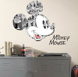 Mickey Mouse Mural eBay