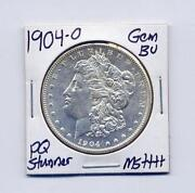 1904 O Morgan Silver Dollar