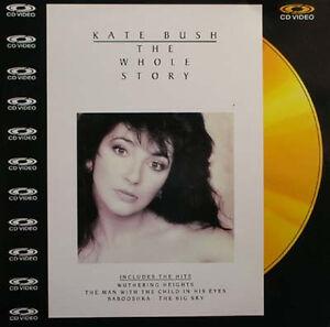 KATE-BUSH-The-Whole-Story-Laser-Disc