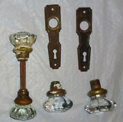 Clear Glass Knobs