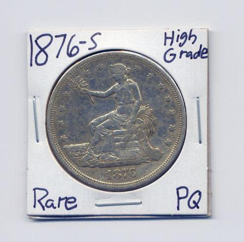 1876 Trade Dollar Ebay