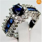 White Gold Diamond Engagement Ring Size 8