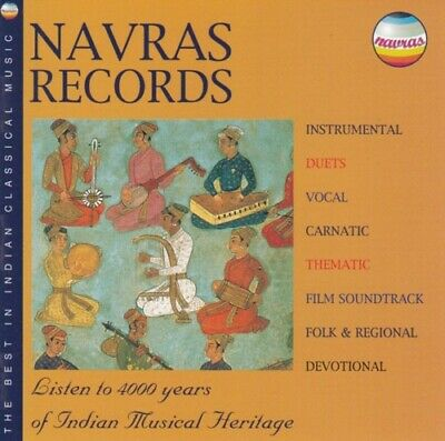 Various - Navras records - The best in indian classical music - CD -