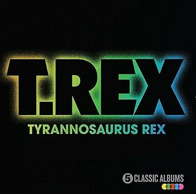 T Rex  T  Rex   5 Classic Albums  New Cd  Uk   Import