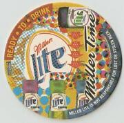 Miller Lite Coasters