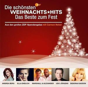 Various - Zdf - die Schönsten Weihnachts Hits - das Beste zu - CD