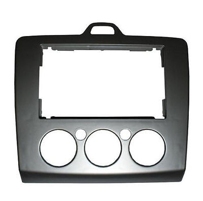 DFP-07-17 Double Din Car Stereo Facia Fascia Panel Plate For FORD Focus 2006 >