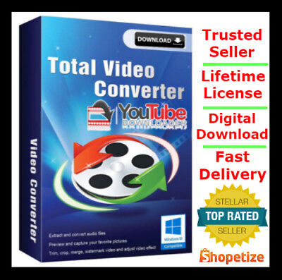 Any Video Converter Youtube Downloader   Lifetime License     Digital Download
