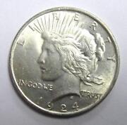 1924 Silver Dollar