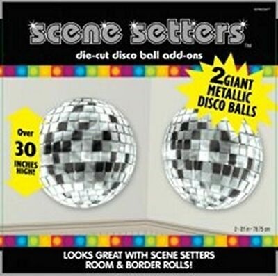 NEW Disco Balls Scene Setters Add Ons - Pack of 2 - by -