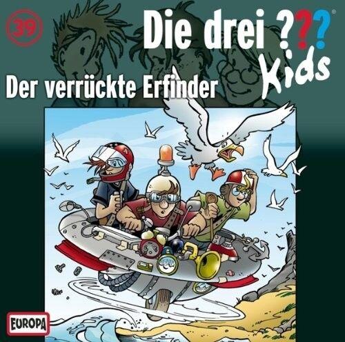 DIE DREI ??? KIDS - 039/DER VERRÜCKTE ERFINDER  CD NEU