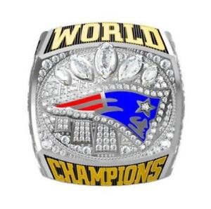 "2016 New England Patriots ""Brady"" NFL Championship Ring"