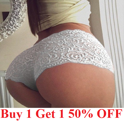 Womens Lace Panties Shorts Lingerie sexy hot French Knickers Underwear Clothing, Shoes & Accessories