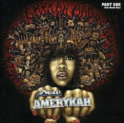 Erykah Badu   New Amerykah Part One  4Th World War  New Cd