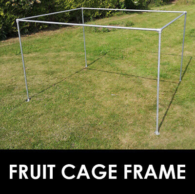Fruit Cage Frame Large Heavy Duty Garden Anti Bird Galvanised Steel Made in UK