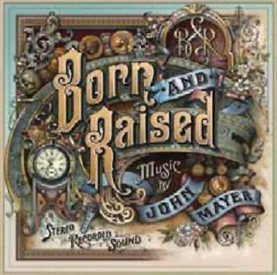JOHN MAYER-BORN AND RAISED NEW VINYL RECORD