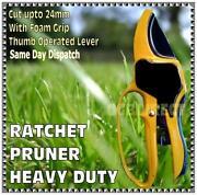 Ratchet Secateurs