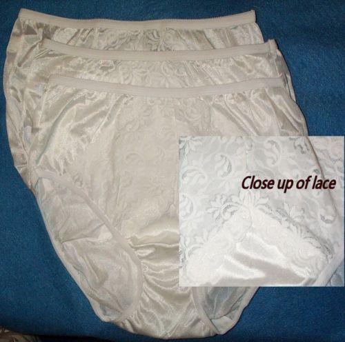 White Nylon Panties 91