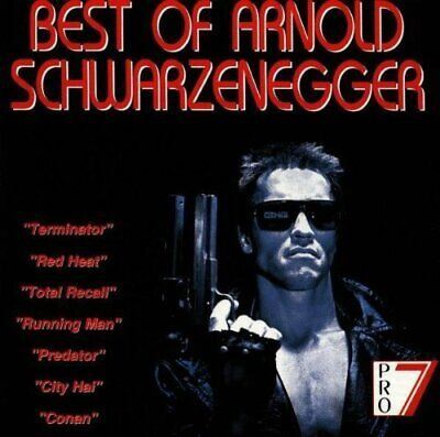 Best of Arnold Schwarzenegger [CD] Terminator, Conan,