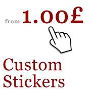 Personalised Car Window Stickers