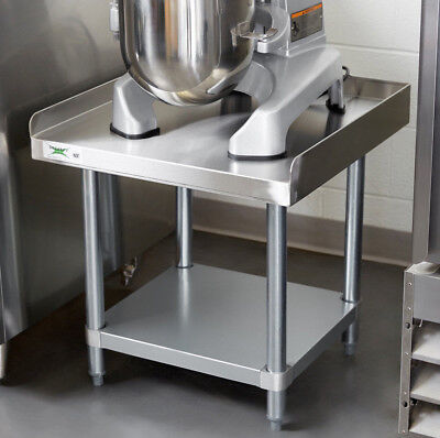 24 X 24 Stainless Steel Table Commercial Heavy Duty Equipment Work Mixer Stand