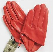 Leather Half Finger Gloves