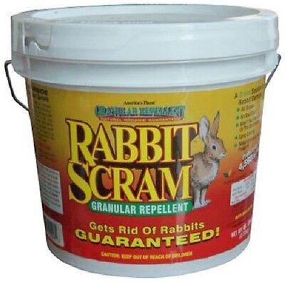 Rabbit Scram 11006 6 lb Natural Organic Rabbit Repellent Granules