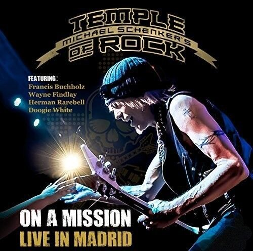 Michael Schenker - On A Mission: Live In Madrid [New CD]