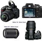 Nikon D3100 18-55 55-200