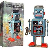 Tin Wind Up Robot