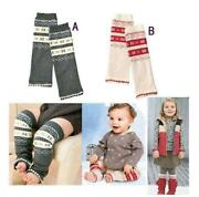 Red Baby Leg Warmers
