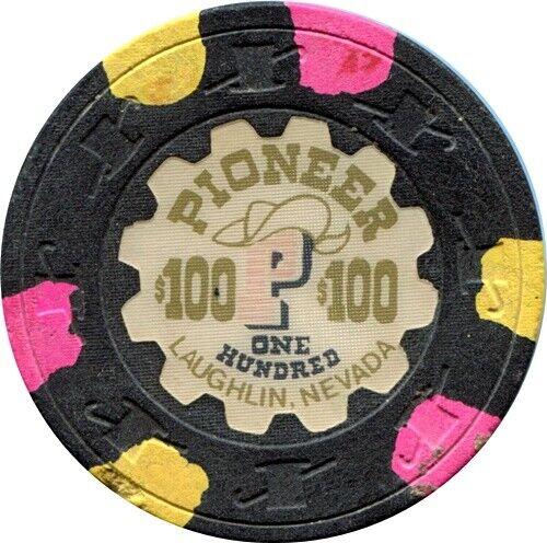 Pioneer Hotel, Laughlin $100 Casino Chip