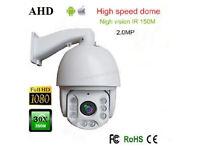 "AHD PTZ Camera for cctv cameras 30 X Zoom 7"" 2MP 1080P High Speed Dome IR NIGHT VISION 360"""