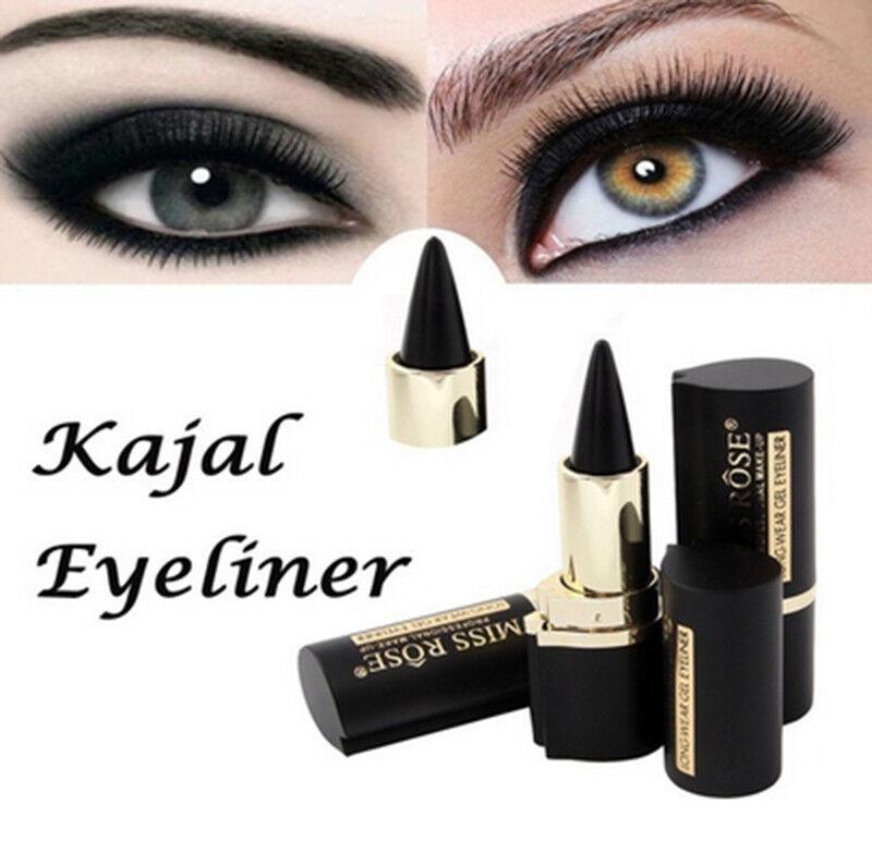 Makeup Gold Beam Full Dumb Black Tube eyeliner Gel Eye Liner Stickers Eyeliner