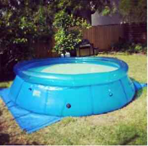 Easy Set 12ft Pool with added extras inc. Super Soakers,Vacuum... Bentleigh Glen Eira Area Preview