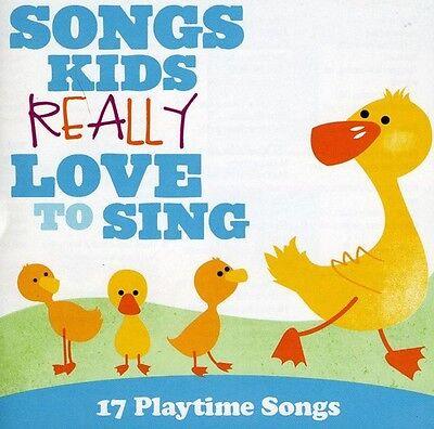 Various Artists, Kid - Songs Kids: 17 Playtime Songs [New CD]