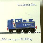 Son 1st Birthday Card