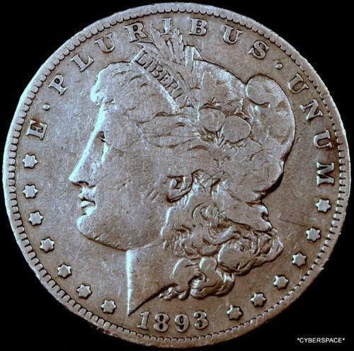1893 P Morgan Silver Dollar Ebay