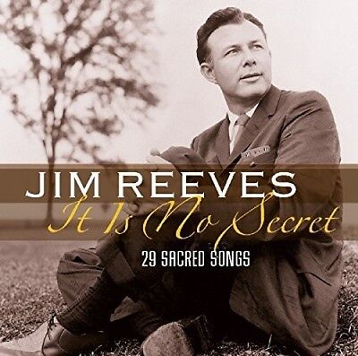 Jim Reeves   It Is No Secret  29 Sacred Songs  New Cd  Holland   Import