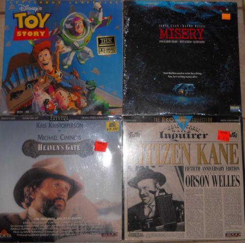Toy Story Laserdisc