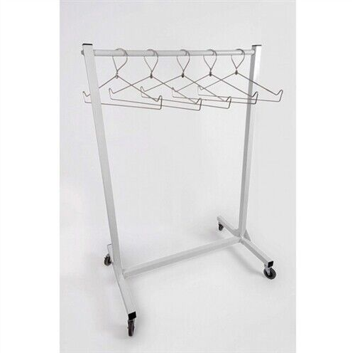 "Mobile X-Ray Apron Rack, 48"" Wide"
