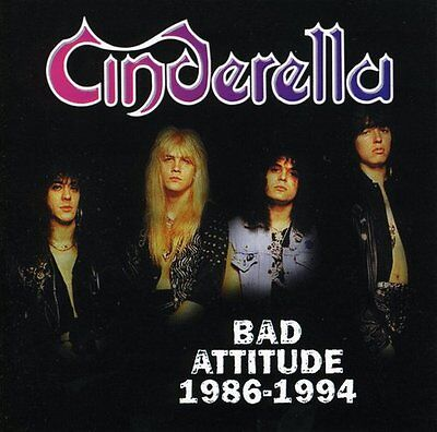 Cinderella - Bad Attitude: 1986-1994 [New CD]
