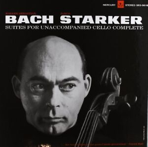 Janos Starker - Bach-6 Solo Cello Suites [New Vinyl LP]